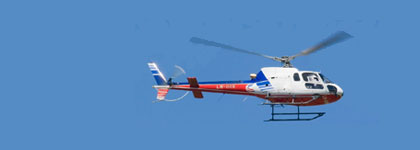 Helicopter transfer service Basel